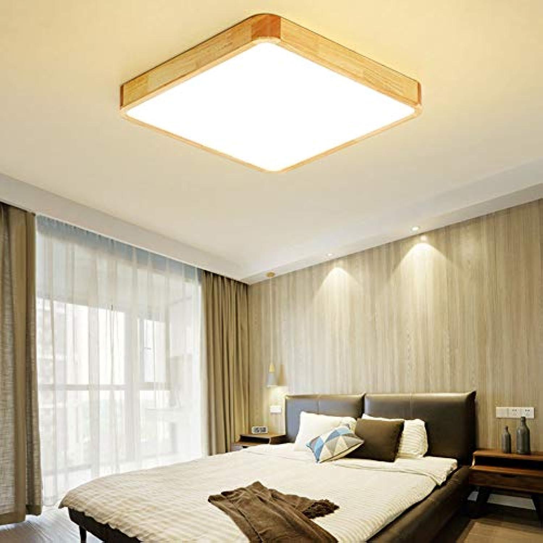 AOKARLIA Hlzern Küche Deckenleuchten Ultra dünn Kronleuchter   Modern Einfach Energie sparen LED Lampen zum Wohnzimmer, Schlafzimmer, Lesesaal,Weißlights,30cm