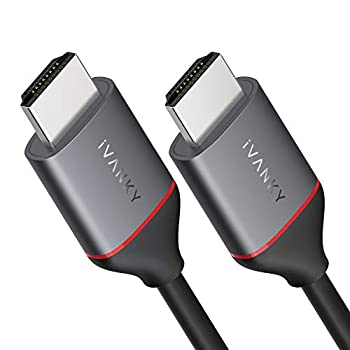 4K HDMI Cable 6ft iVANKY 18Gbps High Speed HDMI 2.0 Cable Supports 4K@60Hz HDCP 2.2 1080p Ethernet ARC 3D HDMI Cord for Gaming Monitor PS4/PS3 PC