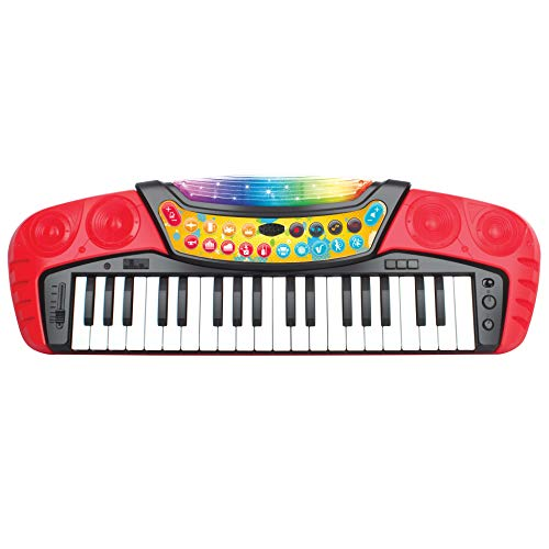 Kids Toy Piano 37-Key Electronic Musical Instrument Keyboard...