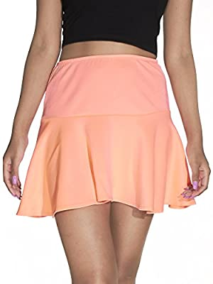 River Island Womens Pull On Drop Seam Flared Skater Skirt (See More Colors & Sizes)