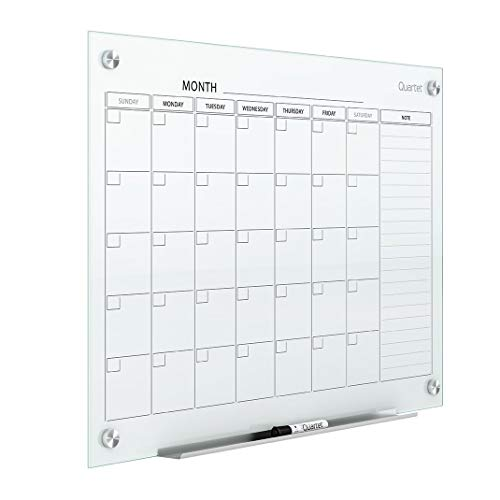 Quartet Magnetic Whiteboard Calendar, 3