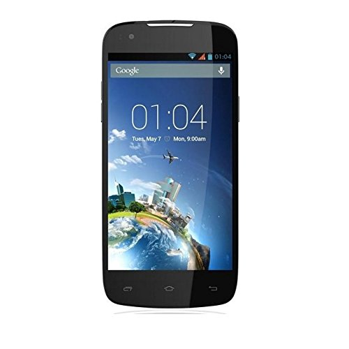 Kazam Mobile TH4543-01 Thunder Q4.5 Smartphone (11,4 cm (4,5 Zoll) Quad Core, 1,3GHz, 8 Megapixel-Kamera, Android 4.2) schwarz