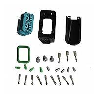 WEIHONGYU ヘッドライトソケットハウジング修理キット61132359991フィット BMW F01 F02 E63 E64 E90の場合