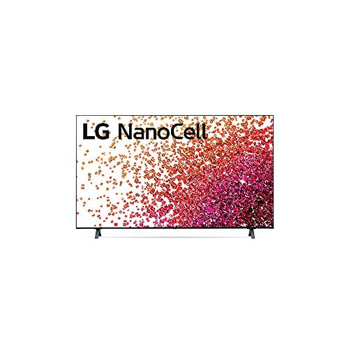 "2021 Smart TV LG 65"" 4K NanoCell 65NANO75 3x HDMI 2.0 Inteligência Artificial ThinQAI Smart Magic Google Alexa"