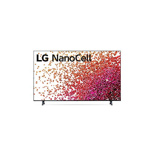 2021 Smart TV LG 50' 4K NanoCell 50NANO75 3x HDMI 2.0 Inteligência Artificial ThinQAI Smart Magic Google Alexa