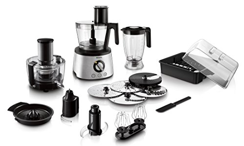 Philips Avance Collection HR7778 - Robot de cocina (Acero inoxidable, 25,4 cm, 28,9 cm, 43,6 cm, 50/60 Hz, Acero inoxidable)