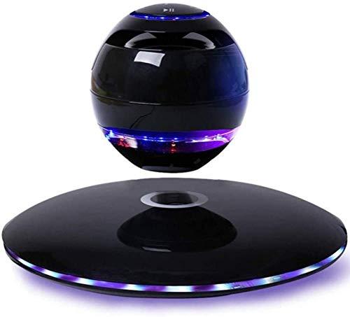 WFOM Altavoz Bluetooth, Altavoz de levitación magnética Bluetooth, UFO Flotante inalámbrico, Mini subwoofer portátil para la decoración del hogar/Oficina