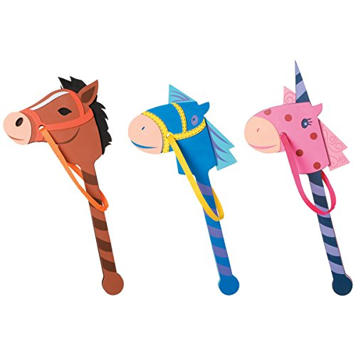 Foamies® Horse on a Stick - Assorted Colors - 22 to 24 inches