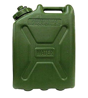 LCI Plastic Water CAN 5 Gallon