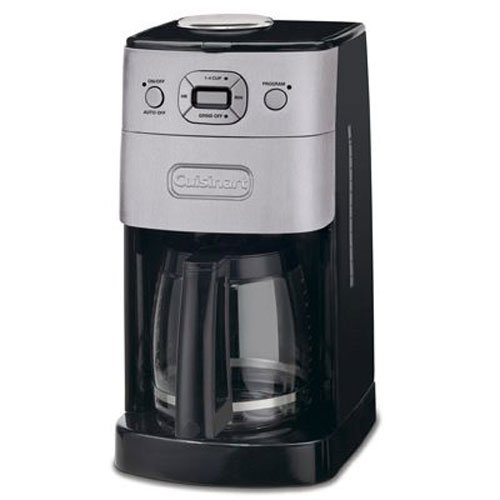 Cuisinart DGB-625BC Grind-and-Brew 12-Cup Automatic Coffeemaker, Brushed Metal Ace Automatic Coffee Maker