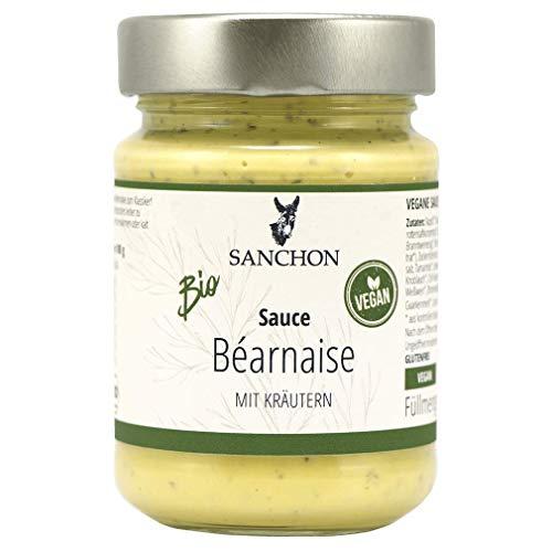 Sanchon Sauce béarnaise im Glas, vegan (170 ml) - Bio