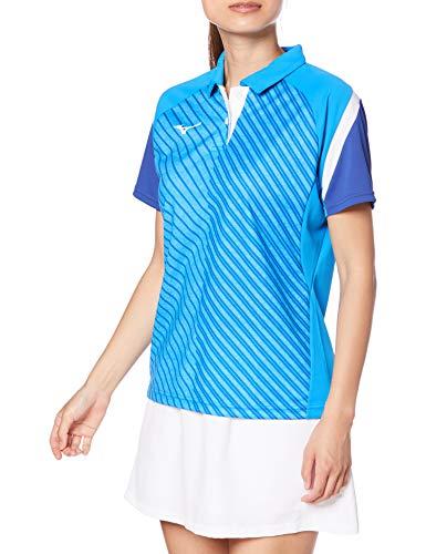 『[Mizuno] テニスウェア ウィメンズゲームシャツ 半袖 62JA0212 ディーバブルー 日本 M (日本サイズM相当)』のトップ画像