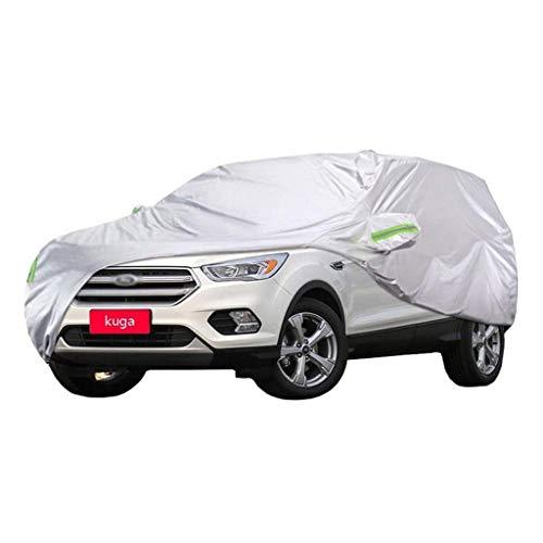 A-SRHY Autoabdeckung Autogarage Abdeckplane Ford Kuga Autoabdeckung SUV Outdoor Indoor Dicker Oxfordstoff Sonnenschutz Regendicht Autoplanen (Size : 2019)