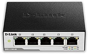 D-Link 5-Port EasySmart Gigabit Ethernet Switch (DGS-1100-05)