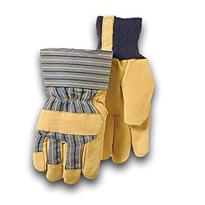 Golden Stag Work Glove Heavy Duty Pigskin Safety Cuff Glove,WINTER LINED X-Large, 27
