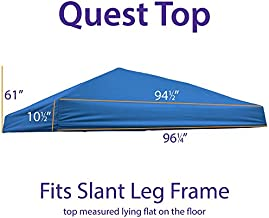 Impact Canopy Replacement Top Cover (Royal Blue)