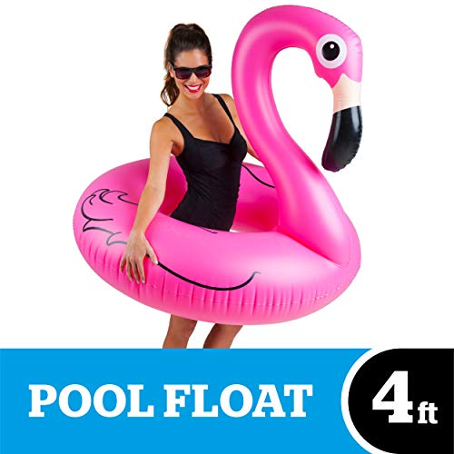 Big Mouth Inc. BMPF-PF Gonfiabile Flamingo, 122 x 120 x 108 cm, Rosa