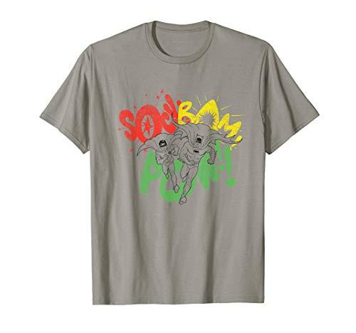 Batman Classic TV Series Sock Bam Pow T-Shirt