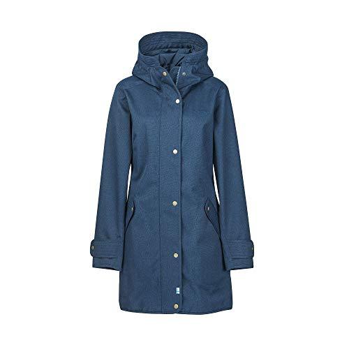 Finside W Oivi Blau, Damen Regenjacke, Größe 38 - Farbe Navy