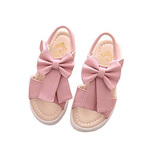 Sandales coréenne Chaussures Princesse bébé Chaussures creux Sandales d'été New