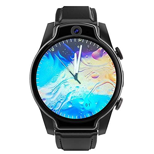 Smart Watch, Schermo Rotondo Ad Alta Definizione da 1,69 Pollici, 4G Full Netcom Dual-Camera Riconoscimento Volto Uomo E Orologio da Donna Android Sport Android Impermeabile,A
