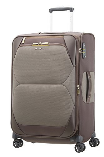 SAMSONITE Dynamore Spinner 67/24 Expandable - 2.9 KG, 74 L Bagage cabine, 67 cm, 82 liters, Marron (Taupe)
