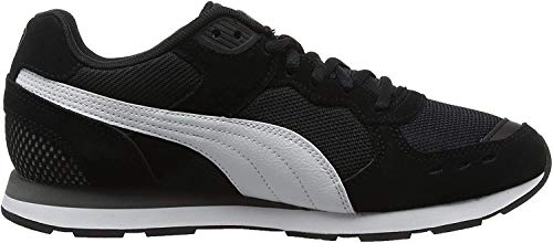 Puma Vista Scarpe Sportive Indoor Unisex - Adulto, Nero (Puma Black-Puma White-Charcoal Gray), 45 EU (10.5 UK)