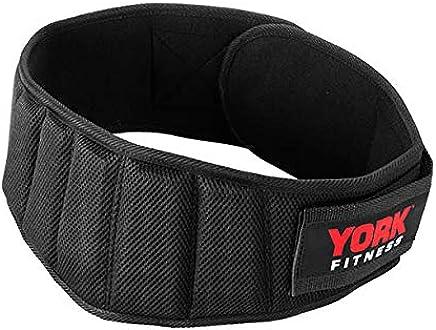 York Delux Nylon Work Out Belt - L/XL, Multi Color