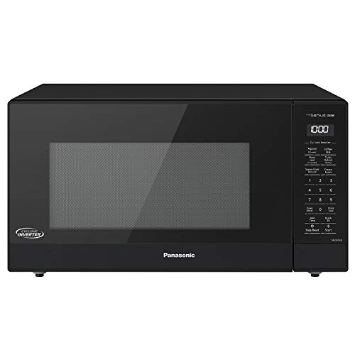 Panasonic NN-SN75LB Countertop Microwave oven with Cyclonic Wave Inverter, Genius Sensor, 1250W of Cooking Power, 1.6 cft, Black