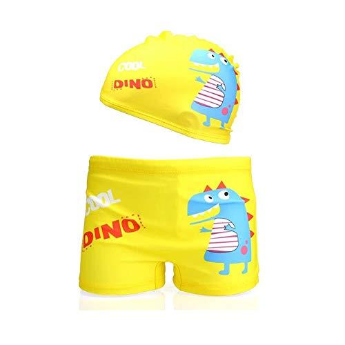 Lazzon Bañador Niños Boxer de Natación Traje de Baño