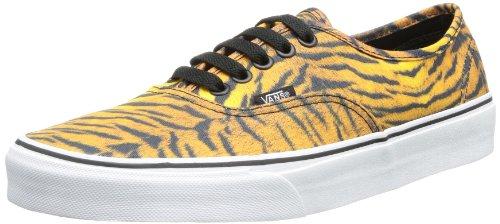 Vans U AUTHENTIC (TIGER) BROWN/T - Zapatillas de lona unisex, Beige (Tiger brown), 36