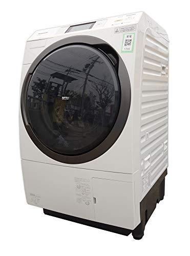 パナソニック 10.0kg ドラム式洗濯乾燥機【左開き】クリスタルホワイトPanasonic エコナビ ナノイー 温水泡洗浄 NA-VX9600L-W