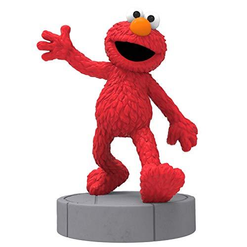 Hallmark Keepsake Christmas 2019 Year Dated Sesame Street Elmo Ornament with Sound