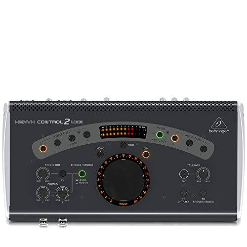 Review BEHRINGER Power Amplifier, Black (CONTROL2USB)