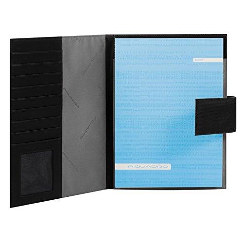Porta blocco Piquadro PQ7 nero formato A4 PB1040PQ/N