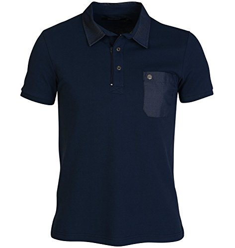 Voi Jeans - Polo - Homme Bleu Bleu Marine