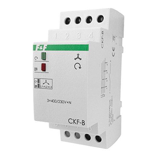 Spannungsüberwachungsrelais Ueberwachungs Relais mit Feste Schwelle der Spannungsasymetrie CKF-B F&F 3058