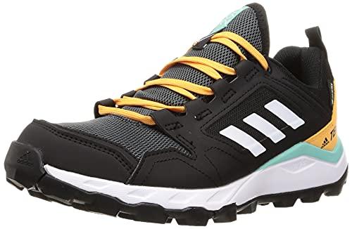 adidas Terrex Agravic TR GTX W, Zapatillas de Trail Running Mujer, NEGBÁS/FTWBLA/NARBRU, 38 2/3 EU