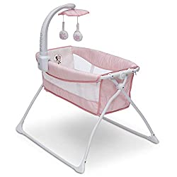 powerful The Delta Children Deluxe Activity Sleeper is a foldable portable bed for newborns …