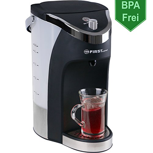 3000W Heißwasserspender 4,3L Thermopot Wasserkocher/heißes Wasser in 5 Sekunden/Tee Wasser Spender/sehr leiser Durchlauferhitzer/BPA Frei