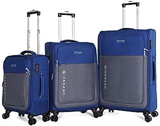 جيوردانو حقائب سفر بعجلات للجنسين 3 قطع ، ازرق ، 744113