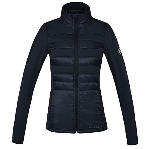 Kingsland Jacke YECLA Fleece | Farbe: Blue m.Navy | Größe: L