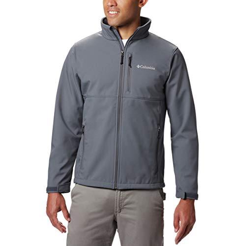 Columbia Homme's Ascender Softshell Front-Zip Jacket Medium