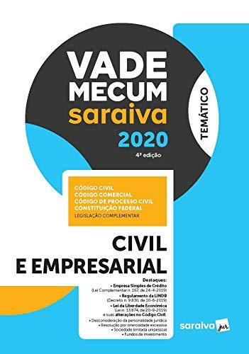 Vade Mecum Civil e Empresarial - Temático - 4ª Ed. 2020