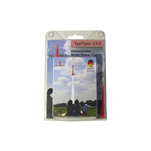 Raketentreibsatz C2-0 (6 Stück)