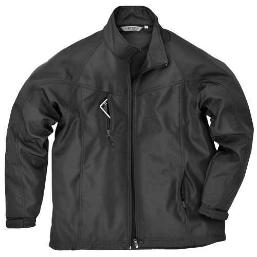 Portwest Oregon - Veste Softshell - Homme (L) (Noir)