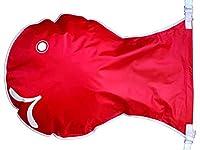 Lサイズ 【 レッド 】 魚型防水バッグ Wickelfisch 防水バッグ ビーチバッグ スイムバッグ 水泳バッグ 水に浮くバッグ ドライバッグ 泳ぐバッグ