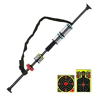 "Geekhigh Blowguns 36"" .40 Caliber Blowgun Kit with 12 Long/Mid/Short Darts + 3PCS Extra Target Paper by Geekhigh"