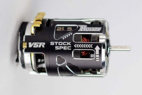 2020 Surpass Hobby Rocket V5R 21.5 Stock Spec Brushless Racing Motor for 1/10th Scale RC Cars, Buggies, Trucks and More.
