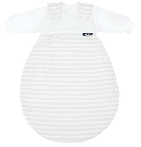 Alvi 423801176 Baby Mäxchen, 3 - teilig, Blockstreifen beige